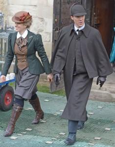 Sherlock-filming