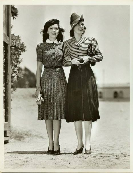 Fashion Flashback Wwii Women S Fashion: Swing In Style: What To Wear To The Veteran's Day Dance